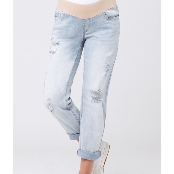 Ripe Womens Baxter Boyfriend Jean Jeans